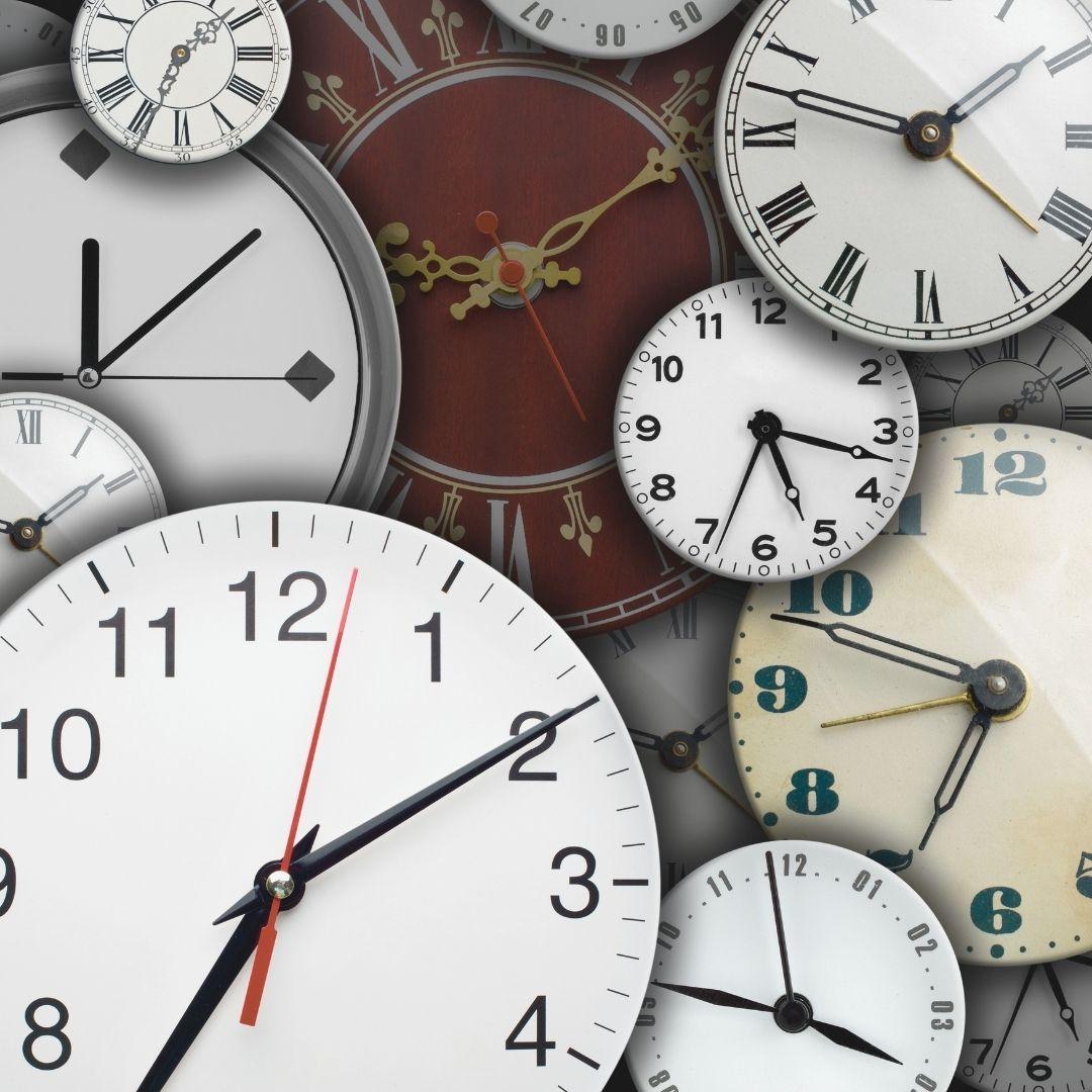 relojes y la experiencia del tiempo